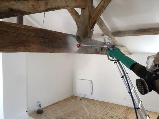 traitement termites pulvérisation